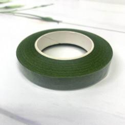 Флористическая тейп - лента цвет зелёный 1 рулон 30 ярд