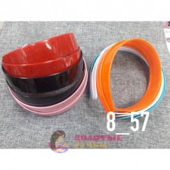 Основа для ободок для волос пластмассовые ( уп 12шт ).