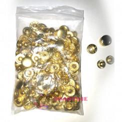 кнопки для куртки альфа 12,5 мм из 4-х частей в упаковке 50 комплектов