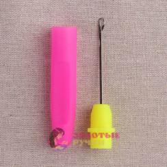 Крючки для поднятия петель с пластиковой ручкой дл 16см.