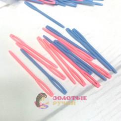 Иголки пластиковые для шерсти и пряжи 7см ( в уп 50шт)