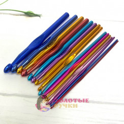 Крючки для вязания алюминиевая 2-12 мм