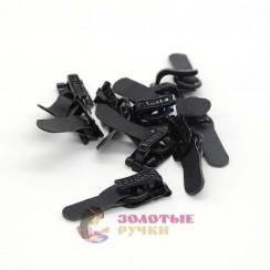 AMII Крючки шубные  цв. черный 50мм уп. 50шт