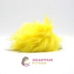 Помпоны 25 см - цвет желтый