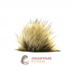 Помпоны 25 см - цвет натуральный