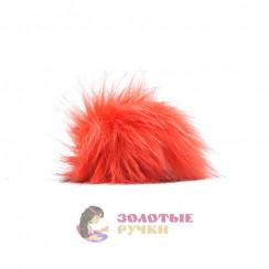 Помпоны 25 см - цвет оранжевый