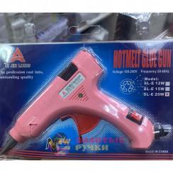 Пистолет клеевой Hot Melt Glue Gun  20W  d-7 мм