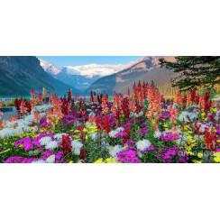 Алмазная мозаика Альпийские луга, без рамки - размер 40*50