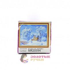 Алмазная мозаика Перед рождеством - размер 20*30, без рамки