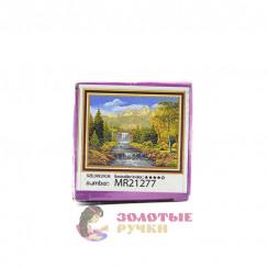 Алмазная мозаика Ступени водопада размер - 20*30, без рамки