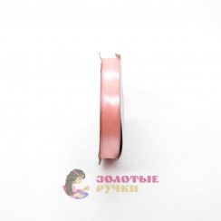 Атласная лента в рулонах по 30 ярдов, ширина 12 мм, цвет розовый