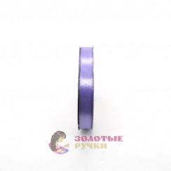 Атласная лента в рулонах по 30 ярдов, ширина 12 мм, цвет сиреневый