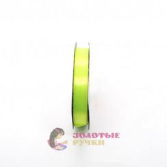 Атласная лента в рулонах по 30 ярдов, ширина 12 мм, цвет неоновый
