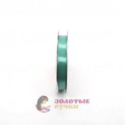 Атласная лента в рулонах по 30 ярдов, ширина 12 мм, цвет мятный