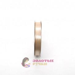 Атласная лента в рулонах по 30 ярдов, ширина 12 мм, цвет грязно-розовый