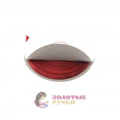 Атласная лента в рулонах по 30 ярдов, ширина 6 мм, цвет бордовый
