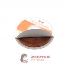 Атласная лента в рулонах по 30 ярдов, ширина 6 мм, цвет коричневый