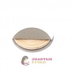 Атласная лента в рулонах по 30 ярдов, ширина 6 мм, цвет персиковый