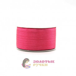Атласная лента в рулонах по 144 ярда, ширина 3 мм, цвет малиновый