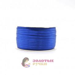 Атласная лента в рулонах по 144 ярда, ширина 3 мм, цвет василек