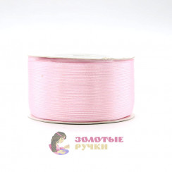 Атласная лента в рулонах по 144 ярда, ширина 3 мм, цвет розовые