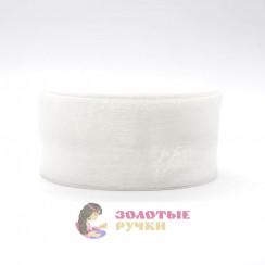 Лента капроновая в рулонах по 50 ярдов, ширина 50 мм, цвет белый