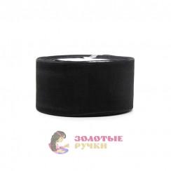 Лента капроновая в рулонах по 50 ярдов, ширина 50 мм, цвет черный