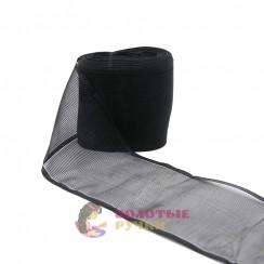 Лента капроновая в рулонах 25 метров, ширина 80 мм, цвет черный