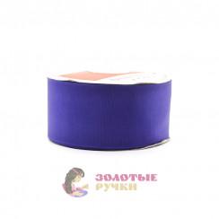 Лента репсовая в рулонах по 30 ярдов, ширина 50 мм, цвет сиреневый