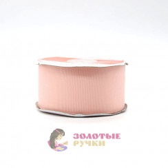 Лента репсовая в рулонах по 30 ярдов, ширина 50 мм, цвет розовый