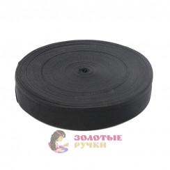 Лента ременная (стропа) ширина 50 мм черная (уп. 50 метр)