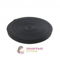Лента ременная (стропа) ширина 20 мм черная (уп. 50 метр)