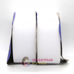 Липучка, ширина 50 мм, в упаковке 25 метров, белый