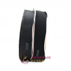 Липучка, ширина 25 мм, в упаковке 25 метров, черный