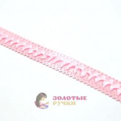 """Тесьма отделочная """"Самоса"""", ширина 18 мм, в упаковке 18 метров, цвет розовый"""