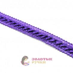 """Тесьма отделочная """"Самоса"""", ширина 18 мм, в упаковке 18 метров, цвет фиолетовый"""