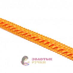 """Тесьма отделочная """"Самоса"""", ширина 18 мм, в упаковке 18 метров, цвет оранжевый"""