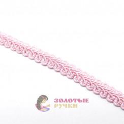 """Тесьма отделочная """"Шанель"""", ширина 15 мм, в упаковке 18 метров, цвет розовый"""