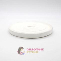 Тесьма брючный в рулоне 50 метров цвет белый
