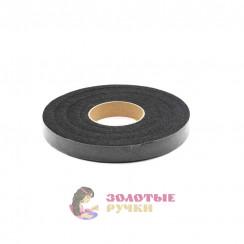 Паутинка клеевая 90 ярдов ширина - 15 мм черная