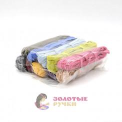 """Резинка продежка ширина 10 мм по 10 м цветная """"Ковровская"""""""