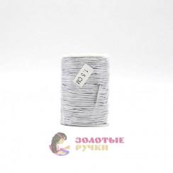 Резинка шляпная, диаметр 1,5 мм серебро