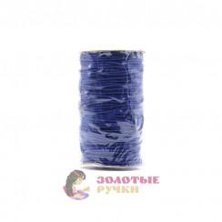 Резинка шляпная, диаметр 2,5 мм цвет синий