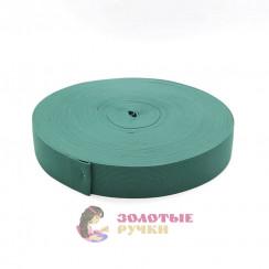 Резинка в рулонах по 40 метров, ширина 40 мм зеленый