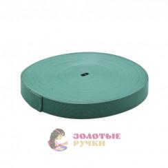 Резинка в рулонах по 40 метров, ширина 30 мм зеленый