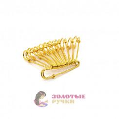 Булавки шляпные золото 100 мм