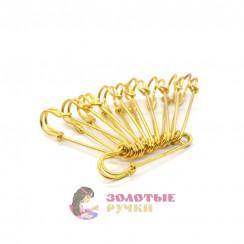 Булавки шляпные 75 мм золото