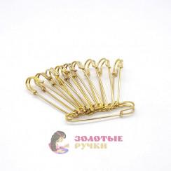 Булавки шляпные золото 63 мм