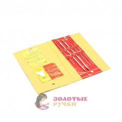 Набор ручных игл Индеец / Книжка (24 игл + нитевдевателем). ( в уп 5 шт ) по 24 игл. Цена указано за уп.