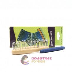 Станок для вязания носков с крючком